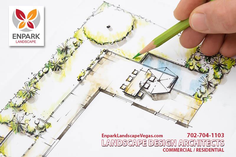 Landscape Design Architect Sketch