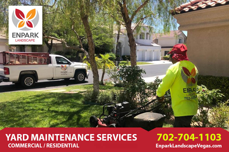 Maintaining Lawn